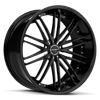 R980 Satin Black 5 lug