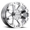 936 Throttle Chrome 6 lug
