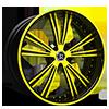Raggio Yellow 5 lug