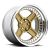 RBQ Matte Metallic Gold 5 lug