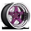 ROC Brushed Gloss Purple 5 lug