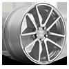 SPF Silver & Machined 5 lug