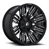 Schism - D649 Gloss Black & Milled 5 lug