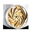 Carpi Brushed Gold 5 lug