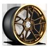 SFO-T Matte Bronze w/ Polished Monaco Copper Lip 5 lug