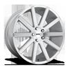 Shot Calla - S212 Brushed / Silver Windows 5 lug