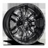 Sledge - D595 Gloss Black & Milled 8 lug