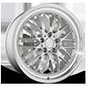 SL-M Matte Silver with Diamond Lip 5 lug