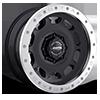 D.R.T. Black w/ Raw Aluminum Ring 8 lug