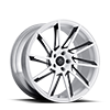 SV50-M White and Black 5 lug