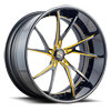 SV68-XC Gloss Black w/ Yellow Accent 5 lug