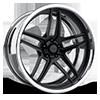 GTB eXL d.concave Matte Black / Polished 5 lug