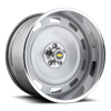 Scottsdale - U440 Crushed Silver | Polished Lip 5 lug