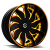 Solare Orange and Yellow 5 lug