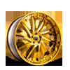 Solaro Gold 5 lug