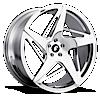SPACCO-M Chrome 5 lug