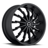 Stiletto Stealth Black 5 lug