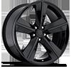 Style 62 Gloss Black 5 lug
