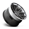 5 LUG TARGA 19X11.5 CANDY BLACK W/ POLISHED LIP