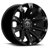 6 LUG 534 SATIN BLACK