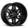 6 LUG 538 SATIN BLACK