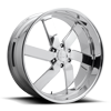 Torque 6 - Forged Street Polished 6 lug