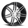 Trento - M178 Brushed / Gloss Black 5 lug