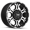 T-03 Flat Black w/ Machined Face & Flange 5 lug