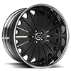 Tiratore Black and Chrome 5 lug