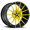 TITANIO-M Yellow/Black 5 lug