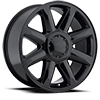 Style 38 Gloss Black 6 lug