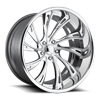 Slasher - U582 Concave Polished 5 lug