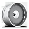 Mashburn - U459 Gunmetal Center/Chrome Hoop 5 lug