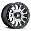 Vector - D921 - Beadlock Brushed / Gloss Black 4 lug