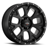 109 Xtreme Satin Black and Satin Clear Coat 6 lug