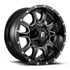 Vandal - D627 20x9 +20 | Gloss Black & Milled 8 lug