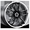 VCC Concave Matte Black 5 lug
