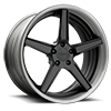 VF302 Black 5 lug