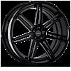 VKi concave Gloss Black 6 lug