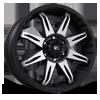VR5 Core Matte Black 6 lug