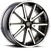 VRV concave Black Chrome 5 lug