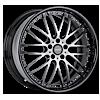 VSA Metallic Silver 6 lug
