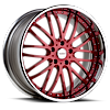 6 LUG VSA RED WITH CHROME LIP