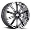 VSE Black Chrome 6 lug