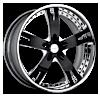 VSY Black Chrome 6 lug