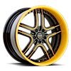 5 LUG VTJ BROWN AND YELLOW