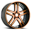 6 LUG VTJ ORANGE AND BLACK