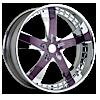 VTK Purple and Chrome 5 lug