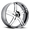 5 LUG VTT CHROME