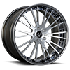 VUA Concave Brushed and Polished 6 lug